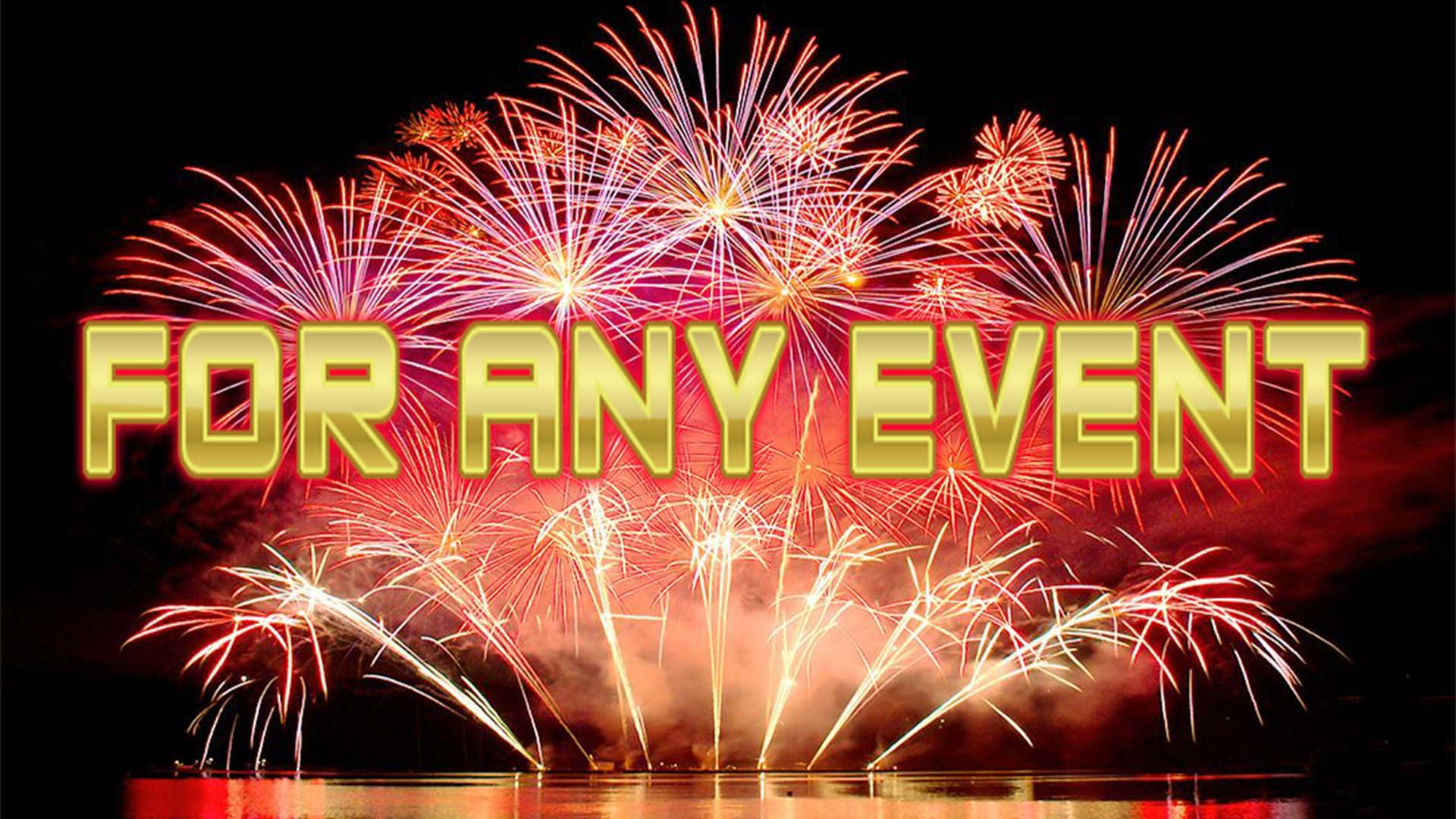 Firework Display Company | Professional Display Manchester
